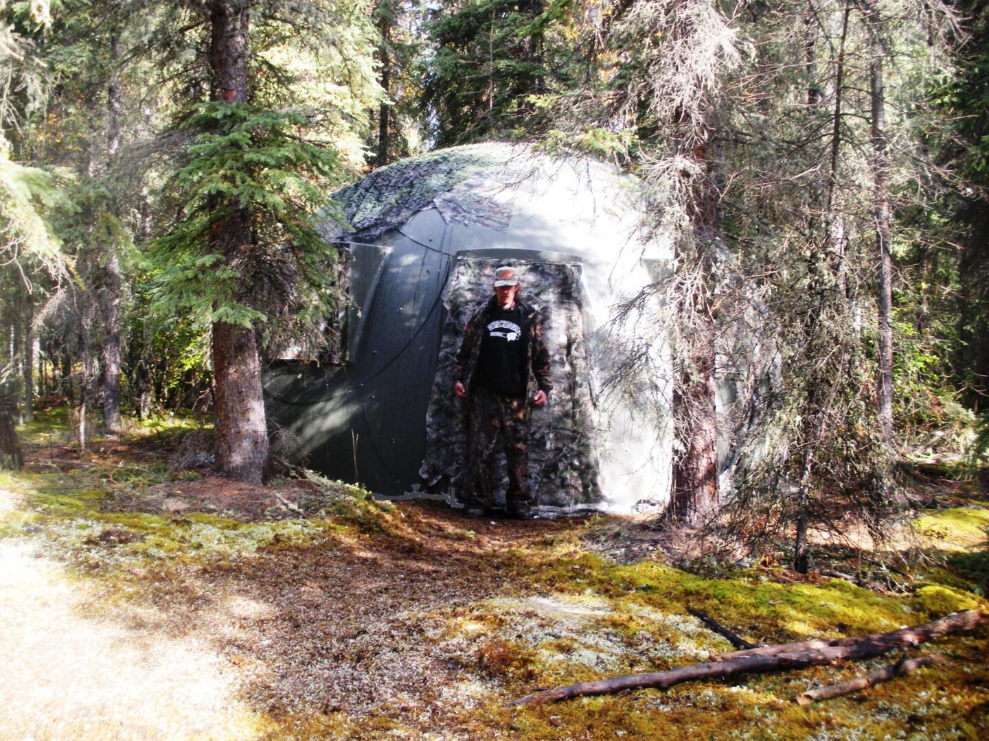 military-grade safety shelter from InterShelter Inc.